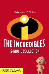The Incredibles 2-Movie Collection (365 Days Viewing)
