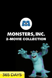 Monsters Inc. 2-Movie Collection (365 Days Viewing)