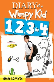 Diary of a Wimpy Kid 4-Movie Collection (365 Days Viewing)