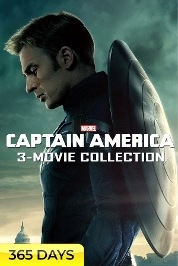 Captain America 3-Movie Collection (365 Days Viewing)