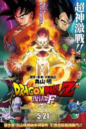 Dragon Ball Z Resurrection of 'F'